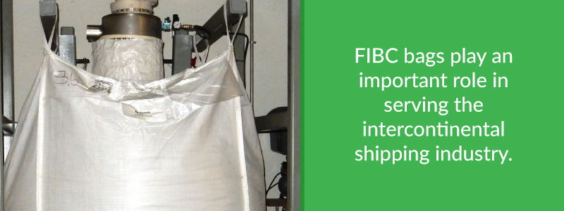 FIBC bags play an important role in intercontinental shipping industry