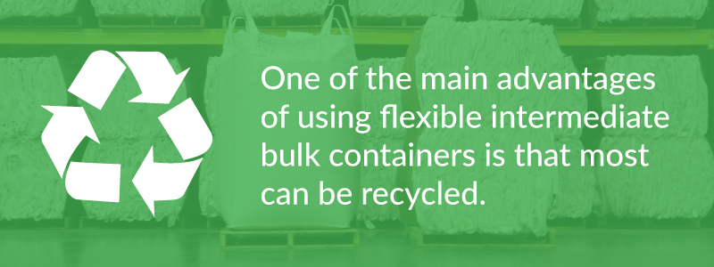 most FIBCs can be recycled