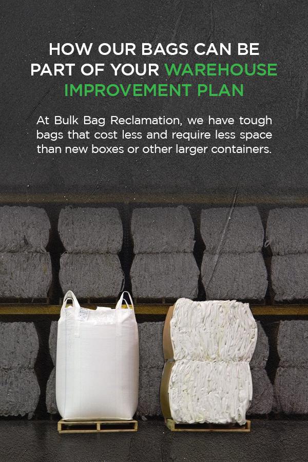 4 Easy Ways to Improve Warehouse Efficiency - Bulk Bag